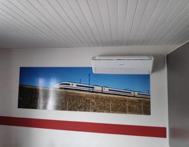 Samsung wandmodel aircowarmtepomp
