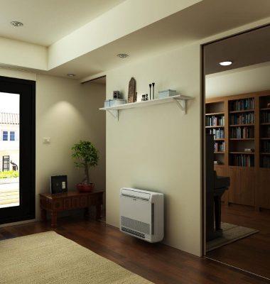 Samsung- warmtepomp vloermodel
