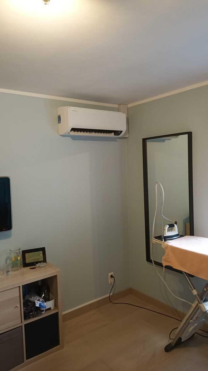 Realisatie Samsung multisplit warmtepomp met 3 binnenunits wind free Comfort te Merelbeke
