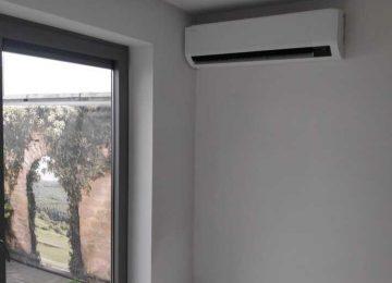 Realisatie Samsung single split warmtepomp wind free Comfort te Wetteren