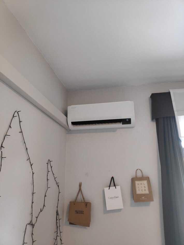 Realisatie Samsung multisplit warmtepomp met 2 binnenunits wind free Comfort te Aalst