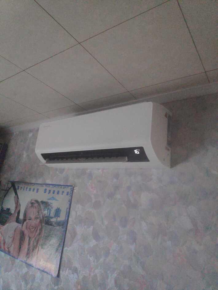 Realisatie Samsung multisplit warmtepomp met 4 binnenunits wind free Comfort te Welle