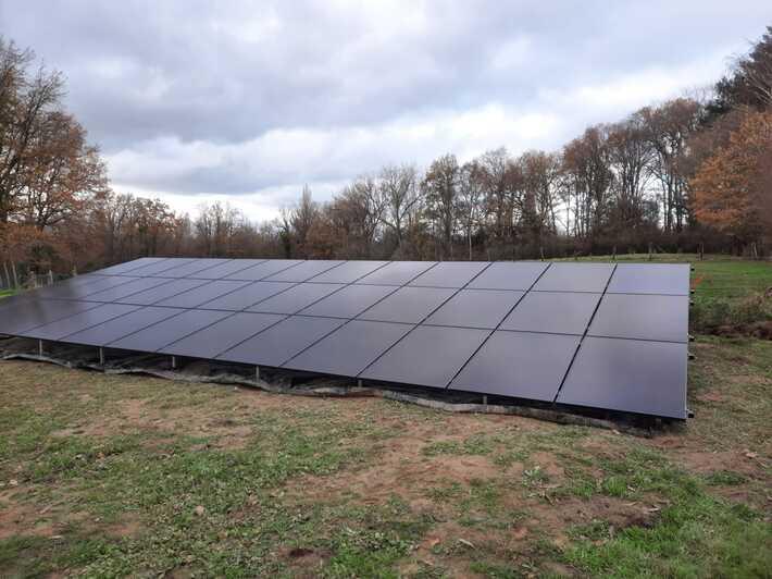 Realisatie 36x Qcells zonnepanelen 340 Wp monokristallijn Full Black met SMA omvormer SB5.0 + SB3.6 1AV te Aalst