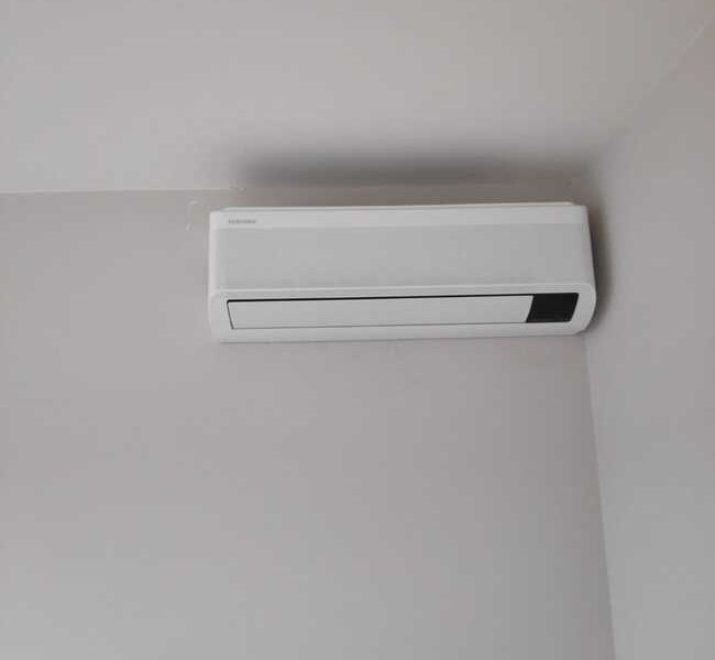 Realisatie Samsung multisplit airco/warmtepomp met 2 binnenunits wind free Elite + Comfort te Mere