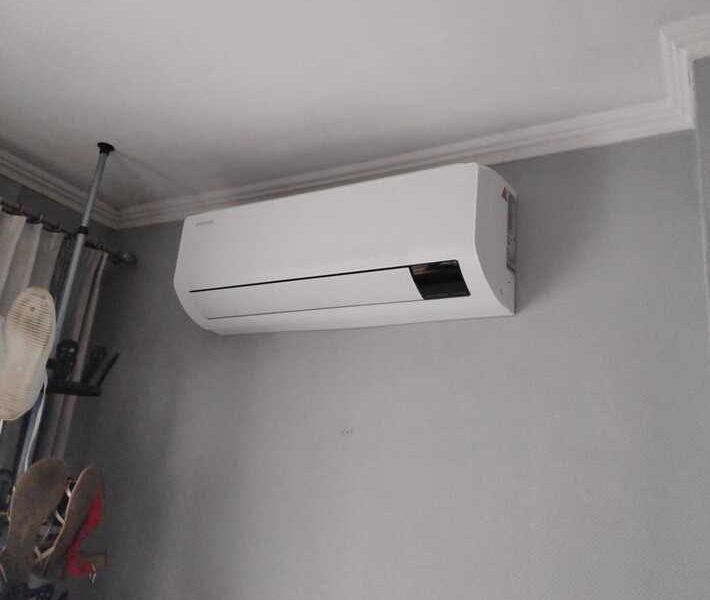 Realisatie Samsung multisplit airco/warmtepomp met 3 binnenunits wind free Comfort + Elite in Aalst