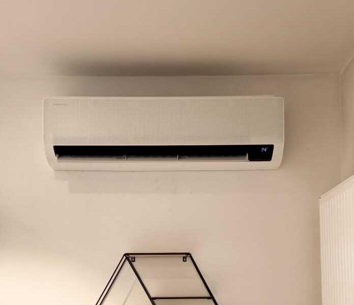 Realisatie Samsung multisplit airco/warmtepomp met 3 binnenunits wind free Comfort te Nieuwerkerken