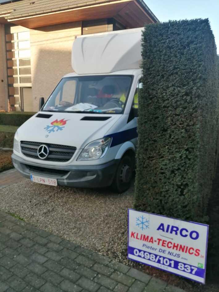 Realisatie Samsung multisplit aircowarmtepomp met 3 binnenunits wind free Comfort te Sint-Lievens-Houtem