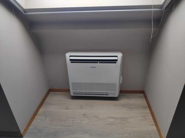 Realisatie Samsung multisplit airco/warmtepomp met 4 binnenunits wind free Comfort + Elite te Lede