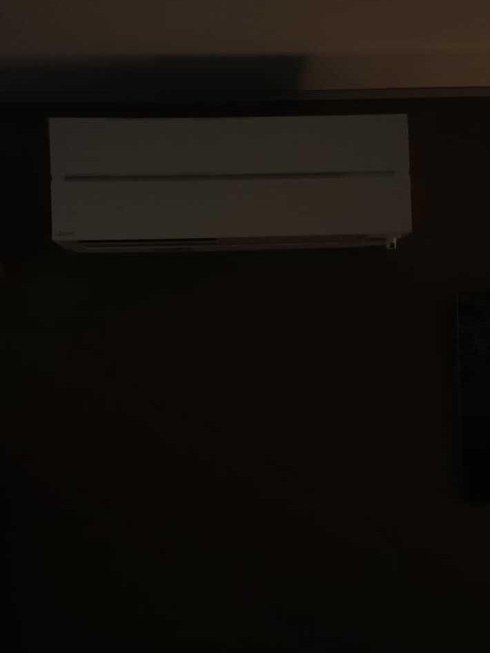 Realisatie Mitsubishi multisplit aircowarmtepomp met 2 binnenunits te Gooik