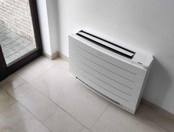 Realisatie 2x Daikin multisplit warmtepomp met 5 binnenunits Perfera Floor te Haaltert