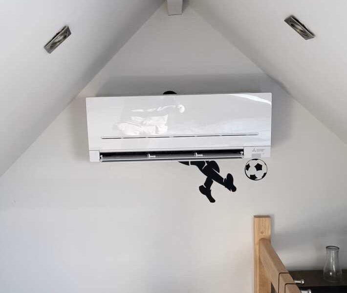 Realisatie 2x Mitsubishi multisplit airco/warmtepomp met 5 binnenunits te Haaltert