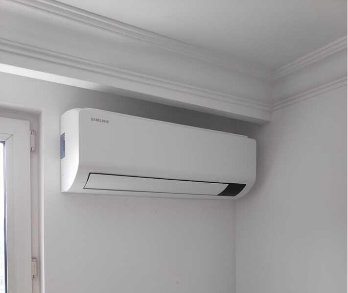 Realisatie Samsung multisplit airco/warmtepomp met 2 Luzon binnenunits te Ninove
