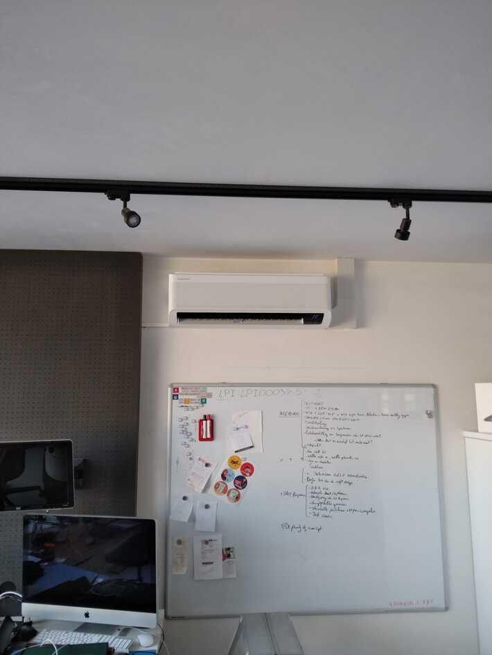 Realisatie Samsung multisplit aircowarmtepomp met 3 binnenunits Winfd Free Elite + 1x single split te Impe