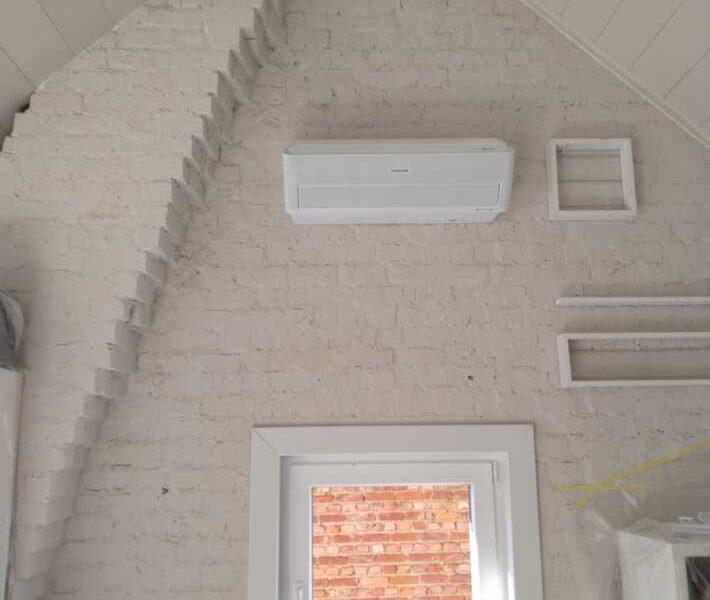 Realisatie extra Samsung airco/warmtepomp binnenunit te Aalst