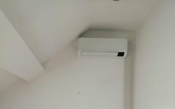 Realisatie Samsung multisplit airco/warmtepomp met 3 binnenunits wind free Comfort te Gentbrugge