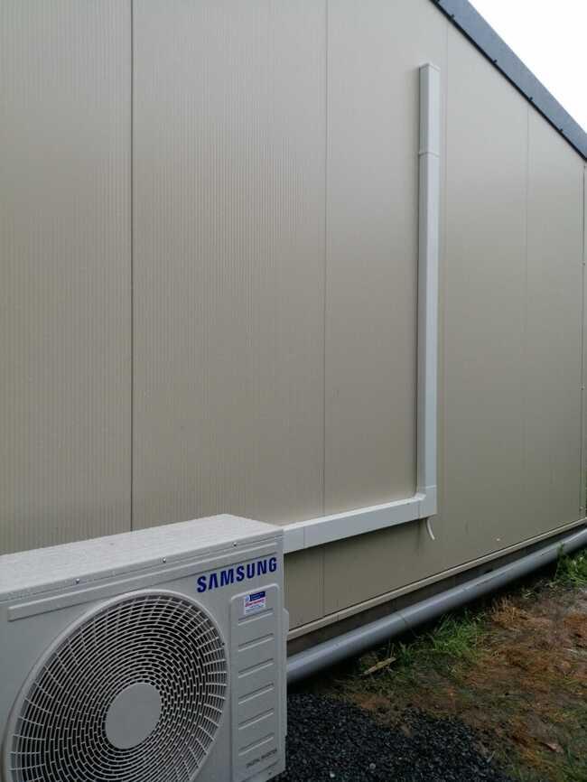 Realisatie 2x Samsung single split warmtepomp te Aalst