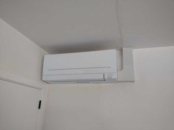 Realisatie Mitsubishi multisplit airco/warmtepomp met 4 binnenunits te Kester