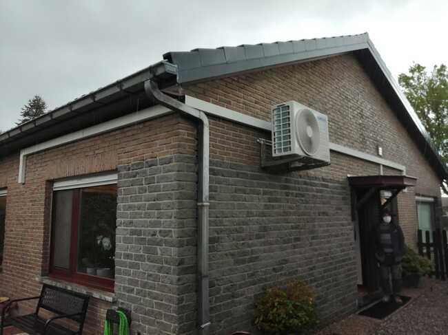 Realisatie Samsung multisplit aircowarmtepomp met 3 Luzon + Wind Free Comfort binnenunits te Drongen