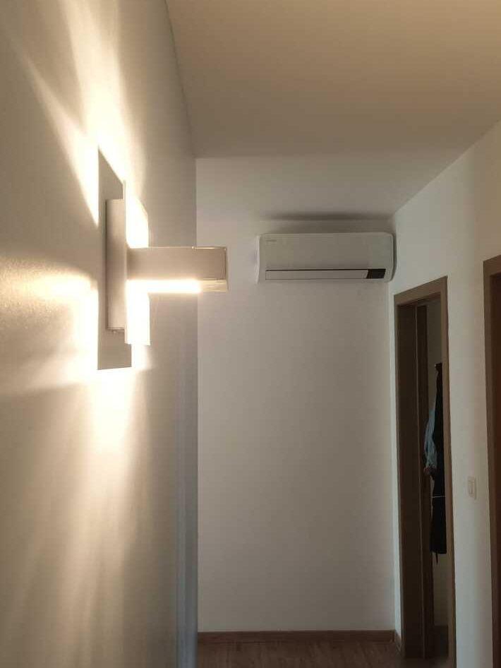 Realisatie Samsung multisplit aircowarmtepomp met 3 binnenunits wind free Comfort te Oostakker