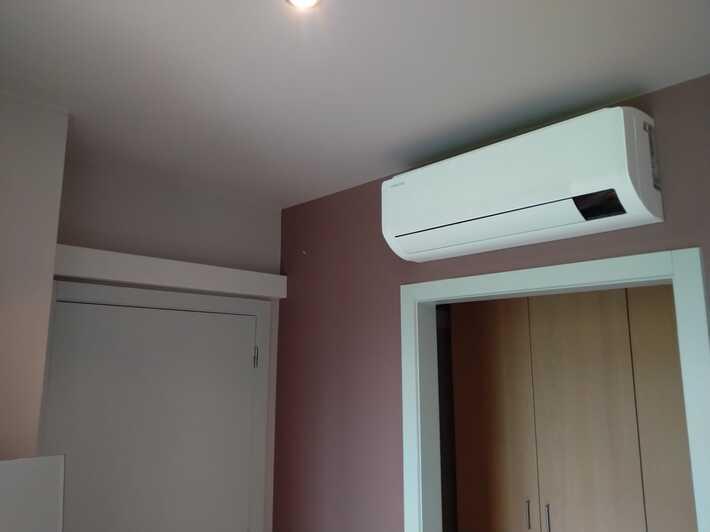 Realisatie Samsung multisplit airco/warmtepomp met 4 binnenunits wind free Comfort te Roosdaal
