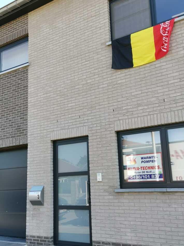 Realisatie Samsung multisplit aircowarmtepomp met 2 binnenunits Wind Free Comfort in Meirveld te Lede