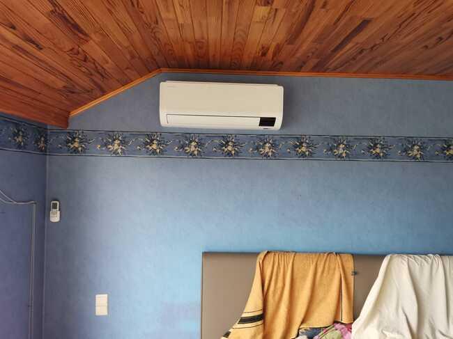 Realisatie Samsung multisplit aircowarmtepomp met 2 binnenunits Wind Free Comfort te Burst