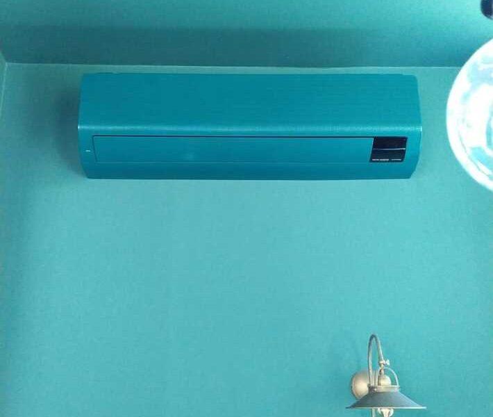 Realisatie Samsung multisplit airco/warmtepomp met 2 binnenunits Wind Free Comfort te Sint-Amandsberg