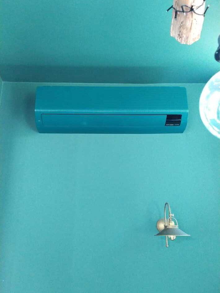 Realisatie Samsung multisplit aircowarmtepomp met 2 binnenunits Wind Free Comfort te Sint-Amandsberg