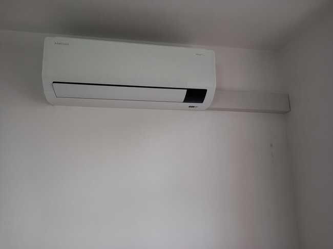 Realisatie Samsung multisplit airco/warmtepomp met 3 binnenunits Wind Free Comfort te Affligem