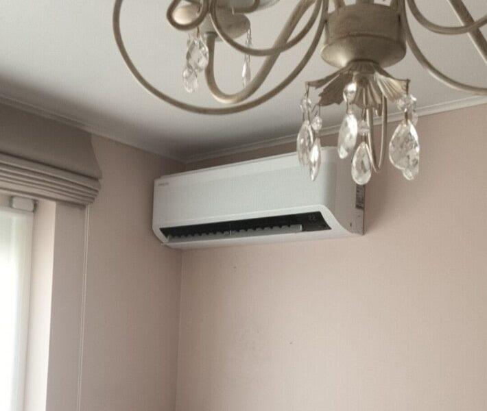 Realisatie Samsung multisplit airco/warmtepomp met 3 binnenunits Wind Free Elite te Zottegem