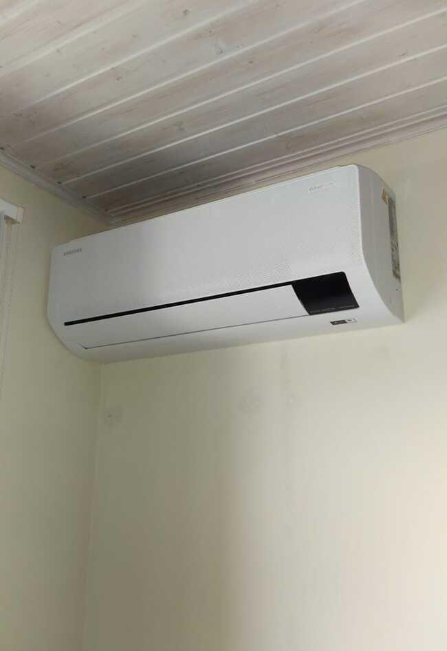 Realisatie Samsung multisplit aircowarmtepomp met 4 binnenunits wind free Comfort te Aalst