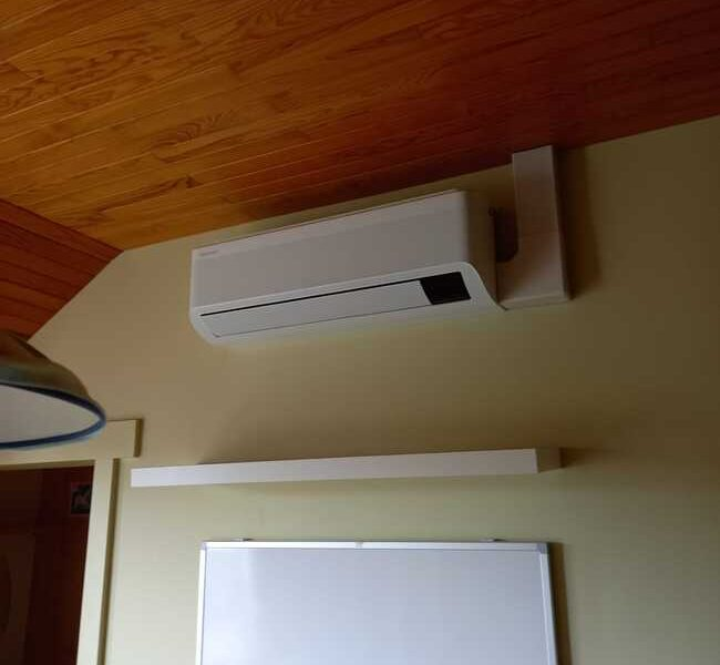 Realisatie Samsung multisplit airco/warmtepomp met 5 binnenunits Wind Free Comfort + Elite te Bever