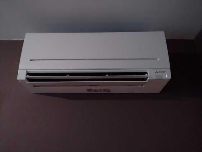 Realisatie Mitsubishi multisplit airco/warmtepomp met 2 binnenunits te Halle