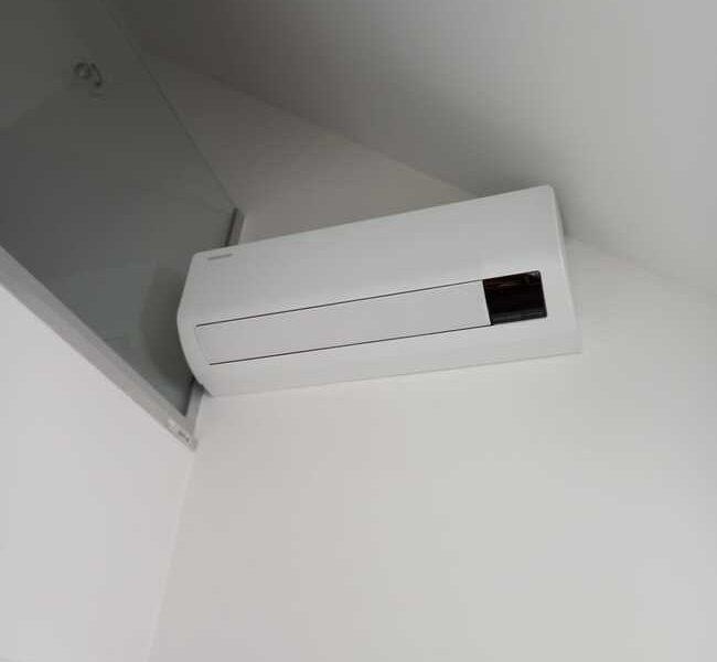 Realisatie Samsung multisplit airco/warmtepomp met 3 binnenunits Wind Free Comfort te Aalst