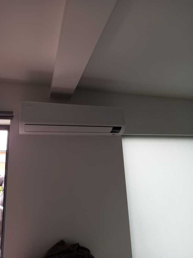 Realisatie Samsung multisplit aircowarmtepomp met 3 binnenunits Wind Free Comfort te Aalst