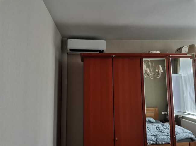 Realisatie Samsung multisplit aircowarmtepomp met 3 binnenunits Wind Free Comfort te Schellebelle