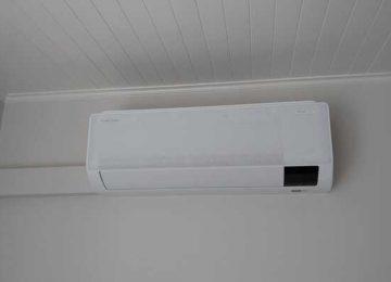 Realisatie Samsung multisplit airco/warmtepomp met 3 binnenunits Wind Free Comfort te Zottegem