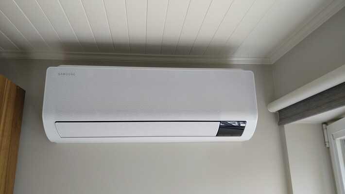 Realisatie Samsung multisplit aircowarmtepomp met 3 binnenunits Wind Free Comfort te Zottegem