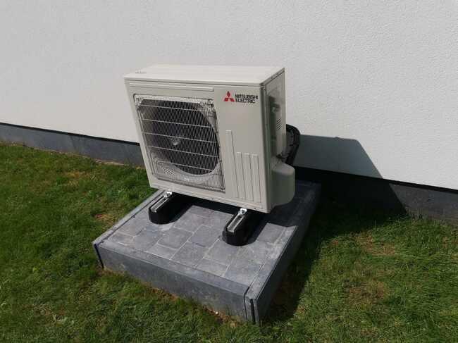 Realisatie Mitsubishi single split aircowarmtepomp te Kester
