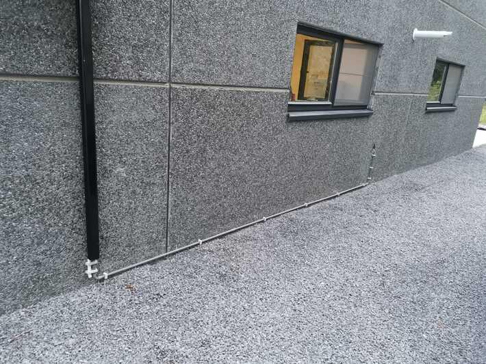 Realisatie Samsung multisplit aircowarmtepomp met 2 binnenunits Wind Free Comfort Kleiweg te Lede