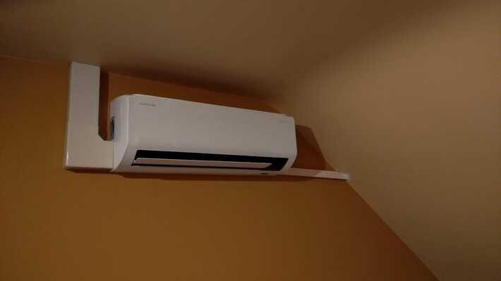 Realisatie Samsung multisplit aircowarmtepomp met 3 binnenunits Wind Free Comfort te Gavere