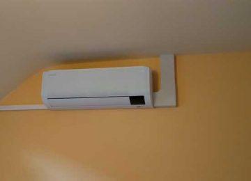 Realisatie Samsung multisplit airco/warmtepomp met 3 binnenunits Wind Free Comfort te Gavere