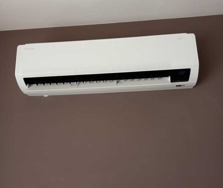 Realisatie Samsung multisplit airco/warmtepomp met 4 binnenunits Wind Free Comfort Popperodedries te Aalst