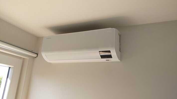 Realisatie Samsung multisplit airco/warmtepomp met 4 binnenunits Wind Free Comfort  te Zottegem