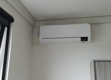 Realisatie Samsung multisplit airco/warmtepomp met 5 binnenunits Wind Free Comfort KLuisdreef te Denderleeuw