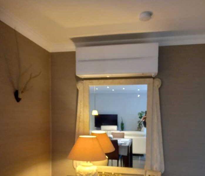 Realisatie Mitsubishi multisplit airco/warmtepomp met 4 binnenunits te Aalst
