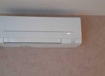 Realisatie Mitsubishi multisplit airco/warmtepomp met 3 binnenunits te Huizingen