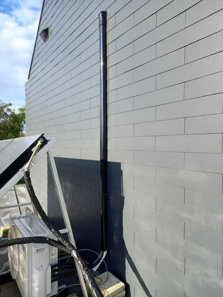 Realisatie Samsung multisplit airco/warmtepomp met 2 binnenunits Wind Free Comfort te Nieuwerkerken